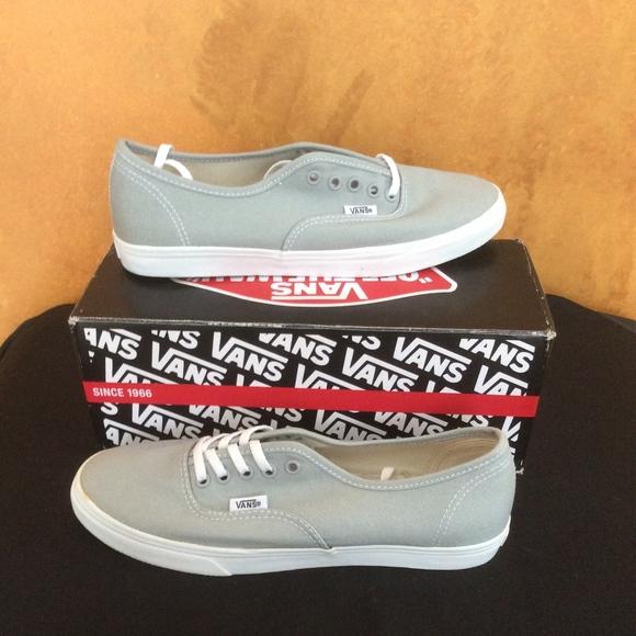 Vans Authentic Lo Pro Sneaker-Light Grey NEW! M 5a9dfe5785e60532adf5de7e 5e0337fd7